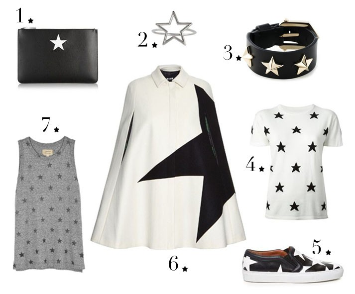 Star mood board2 numbered stars
